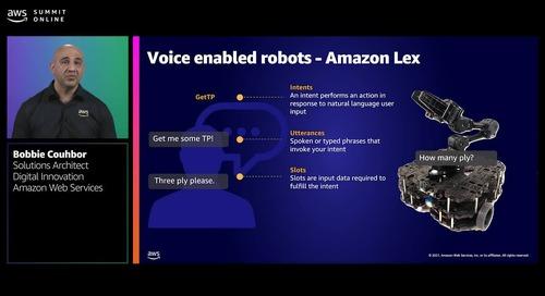 Building autonomous robots for everyday tasks with AWS RoboMaker