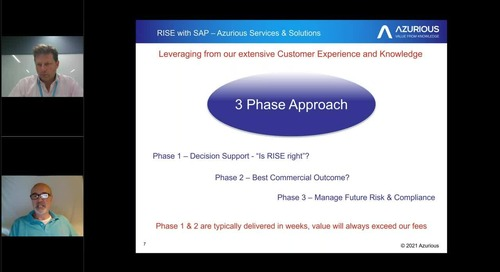 SAP on AWS  Master Class - How to prepare and modernise your SAP licensing for SAP RISE