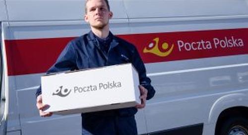 Polish Post delivered 120m parcels in 2017