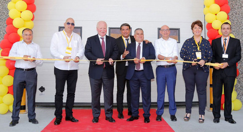 DHL opens new warehouse in Manisa, Turkey