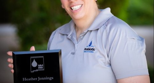 NMRWA 2019 Instructor of the Year Award Presented to Probiotic Solutions® Project Engineer, Heather Jennings