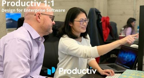 Productiv 1:1 – Design for Enterprise Software
