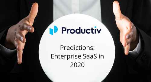 Predictions: Enterprise SaaS in 2020
