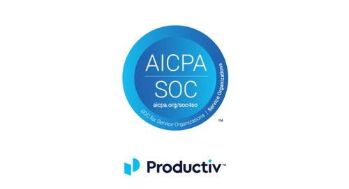 Productiv Achieves SOC 2, Type 1 Compliance