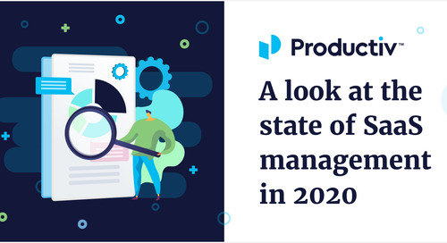 A Look at the State of SaaS Management in 2020
