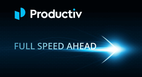 Full Speed Ahead! Productiv Closes $20M in Series B Funding