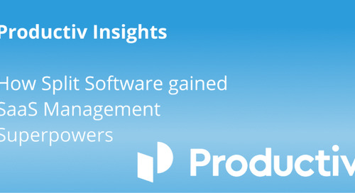 Productiv Insights: How Split Software gained SaaS management superpowers