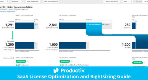 SaaS License Optimization and Rightsizing Guide