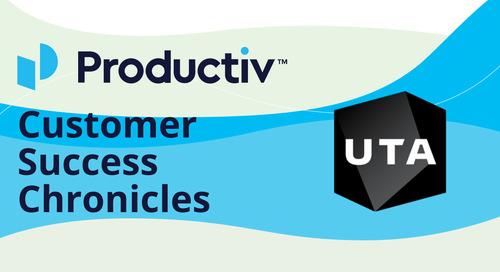 Customer Success Chronicles: Productiv + UTA
