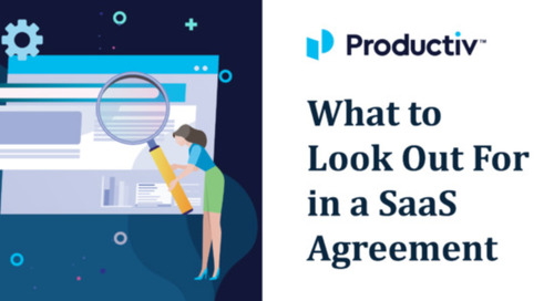What to Look Out For in a SaaS Agreement
