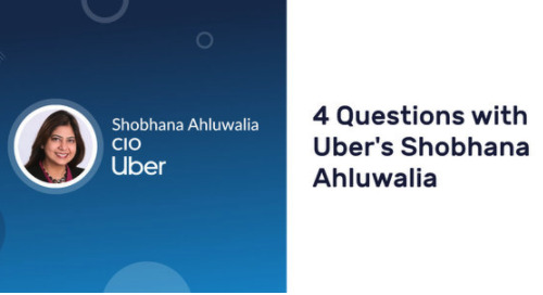 4 Questions with Uber's Shobhana Ahluwalia