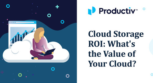 Cloud Storage ROI: What's the Value of Your Cloud?
