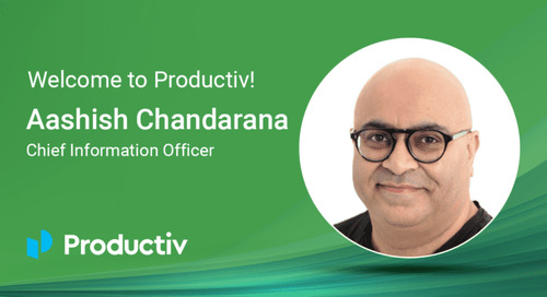 Why I joined Productiv: It's time to change how CIOs work to drive business outcomes