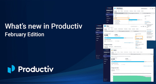 What's new in Productiv: February edition