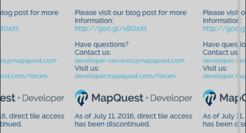 Provisioning OpenStreetMap providers in QtLocation