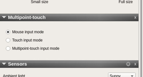 Qt for Device Creation 5.10  Emulator update