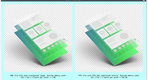 Compressed Textures in Qt 5.11
