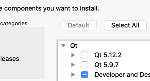 Updated Qt Installer Released