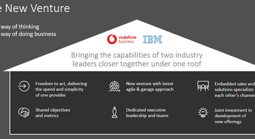 Vodafone, IBM hook up for 5G and cloud-based systems for businesses