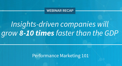 [Webinar Recap] Performance Marketing 101: Your Data Tells a Story