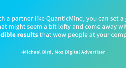 How Moz Slashed CPA and Boosted PPC Revenue with QuanticMind [Video]