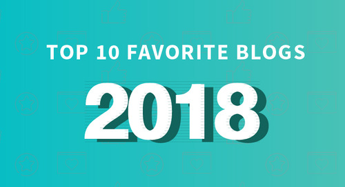 Our Top 10 Favorite Blogs of 2018