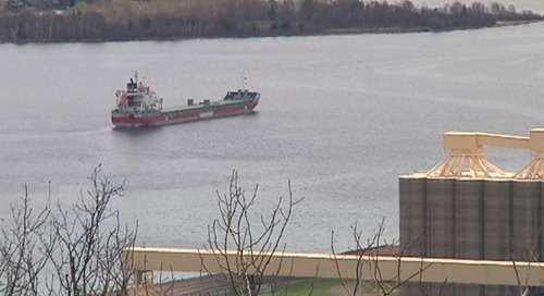 Twin Ports shipping sees highs and lows through COVID-19 Pandemic - CBS 3 Duluth