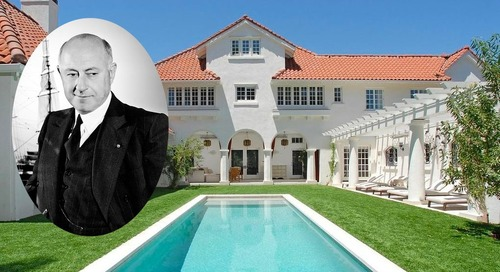 Storied Home Once Owned by Cecil B. DeMille Sells for $8.5M