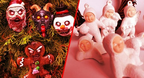 7 Creepy Christmas Tree Ornaments You Can't Unsee