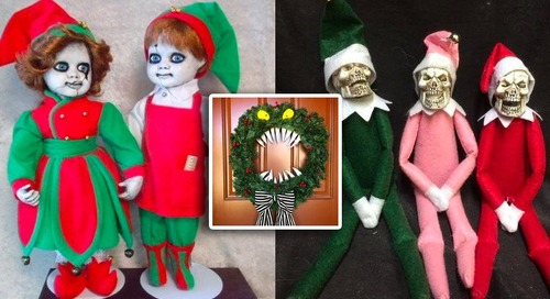 7 Scary Christmas Decorations to Deck Your Halls With, If You Dare