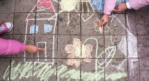 Neighborhood Projects Bring Smiles to Others' Faces—From a Safe Distance
