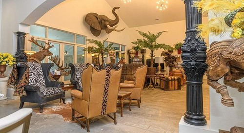 'Statement Home' in Texas Seeks Buyer in Love With Over-the-Top Design