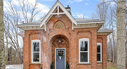 Historic Indiana Schoolhouse From 1883 Gets an A-Plus Transformation