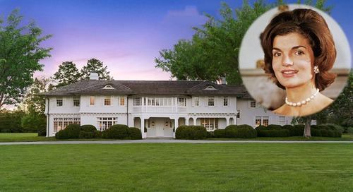 Famed East Hampton Estate Linked to Jacqueline Kennedy Onassis Now Pending Sale