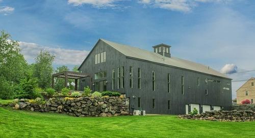 Former Dairy Barn in Massachusetts Transformed Into Modern Mansion