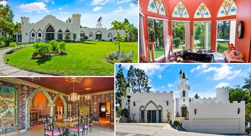 Bend the Knee! L.A.-Area Castle Stakes Its Claim as This Week's Most Popular Home