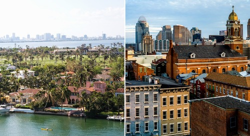 The Hottest Real Estate Markets of 2017: Who Gained Big, Who Fell Hard