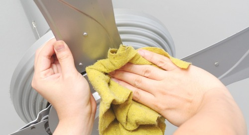 How to Clean Ceiling Fans No Matter How Dusty They Get
