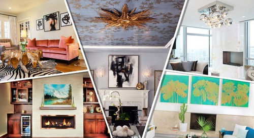 The Year's 7 Hottest Living Room Design Trends Are Making Us Feel Alive Again