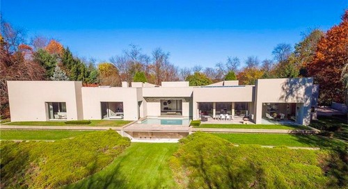 Modern Estate With Movie Pedigree Near Pittsburgh Is Listed for $2.9M