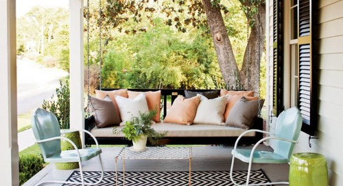 7 Front Porch Ideas That'll Help You Make a Good First Impression