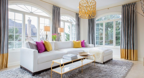 How to Add Color to a Room Without Going Overboard