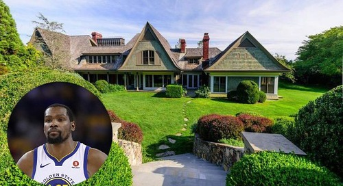'Hamptons 5' Mansion Where  Kevin Durant Met NBA Suitors Is Listed for $15M