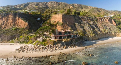 'Amalfi Coast in Malibu': $58M Cliffside Estate Is Most Expensive New Listing