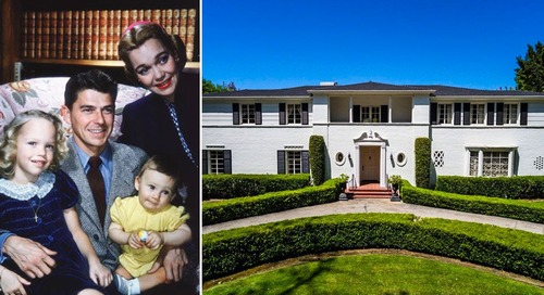 Ronald Reagan Lived Here: An Inside Tour of His Pre-White House Home
