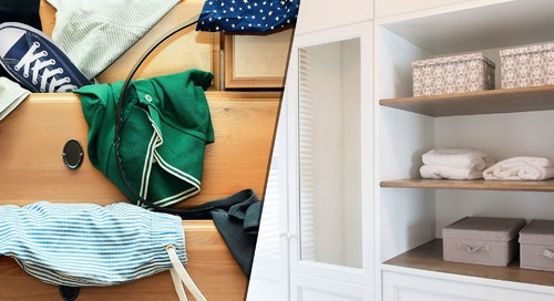 Minimalists and Pack Rats Can Live in Harmony! Organizational Tips for Couples at Odds