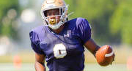Week In Review: Notre Dame Fall Camp Rolls On