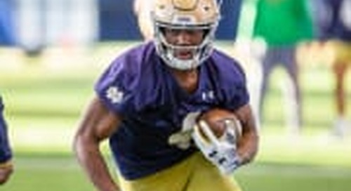 Notre Dame's 25 Most Important Players: No. 12, Kevin Austin