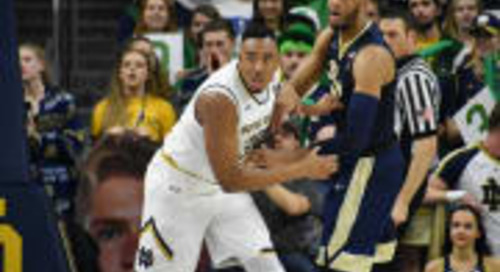 BGI Video: Mike Brey & Irish Players, March 4