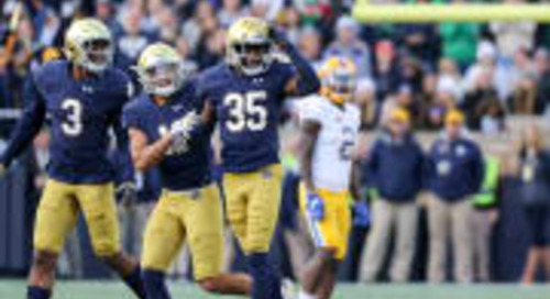Notre Dame Up To No. 4 In AP Top 25